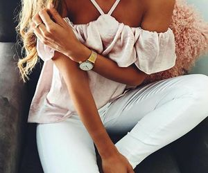 casual, summer fashion, and fashion image