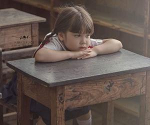 beauty, girl, and little girl image
