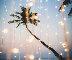 light, beach, and summer image