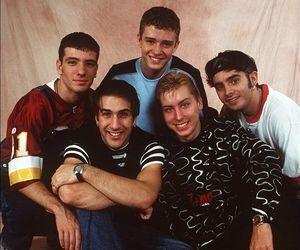 90s, joey fatone, and boyband image