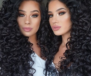 beauty, capelli, and girl image