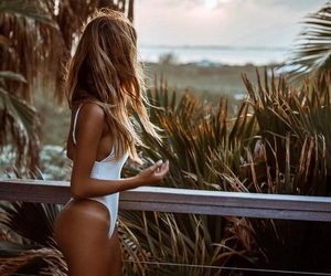 beauty, bikini, and fit image