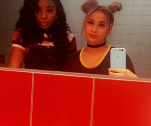 ally brooke, fifth harmony, and normani kordei image
