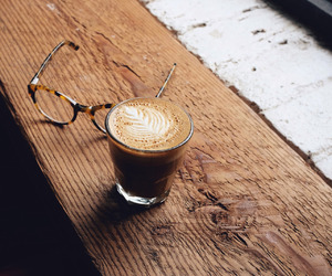 coffee, drink, and glasses image