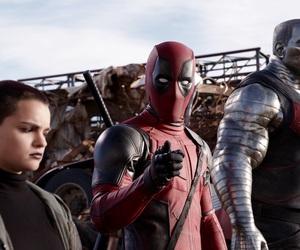 deadpool, Marvel, and movie image