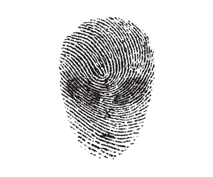 fingerprint, illustration, and threadless image