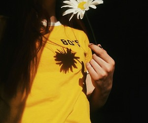 aesthetic, tumblr, and yellow image
