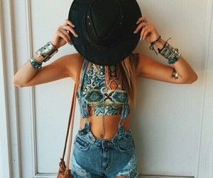 summer, outfit, and style image