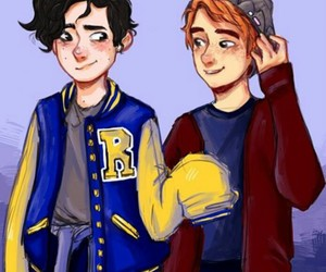 riverdale, archie andrews, and art image