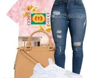 fashion, Polyvore, and str8-savage image