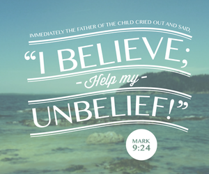 verse, believe, and faith image