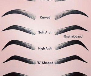eyebrows, brows, and beauty image