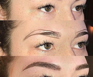 beauty, eyebrows, and hack image