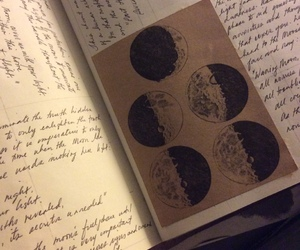book and moon image