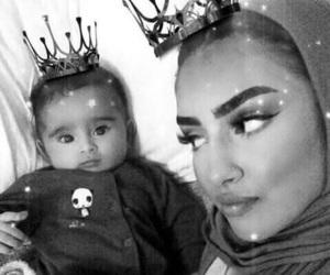 baby and hijab image