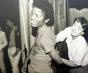 michael jackson and Paul McCartney image