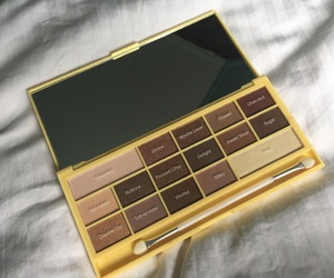 chocolate, colors, and makeup image