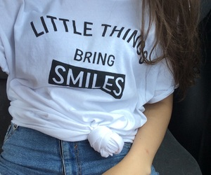 little things, smile, and summer image