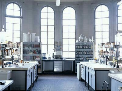 chemestry, laboratory, and science image