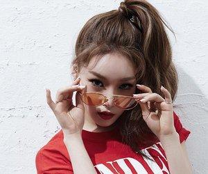 ioi, chungha, and kpop image