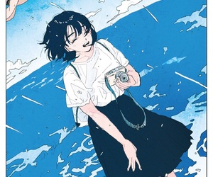 illustration, aesthetic, and anime image