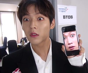 lee minhyuk, btob, and seo eunkwang image