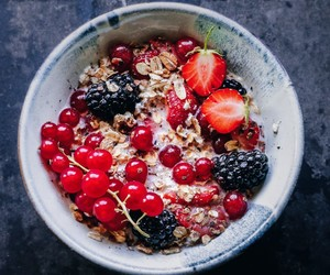 berry, bowl, and breakfast image