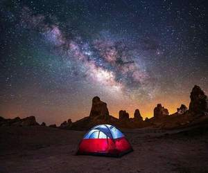 backpack, camp, and explore image