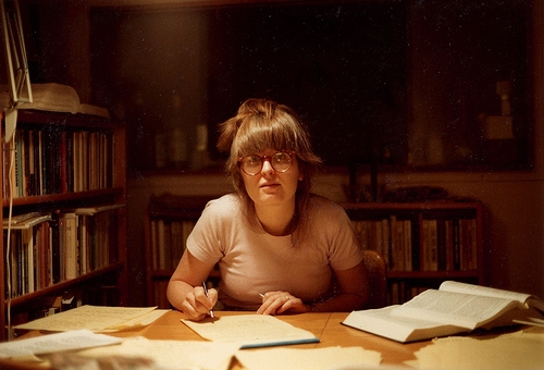 ann althouse, books, and dust image