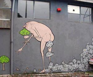 tree, art, and street art image