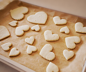 Cookies, hearts, and cute image