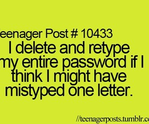 password, delete, and funny image