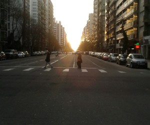 atardecer, city, and mar del plata image