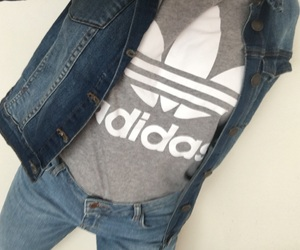 adidas, blue, and clothes image