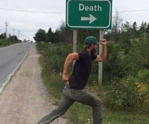 death, funny, and meme image