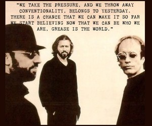 bee gees, inspiration, and music image