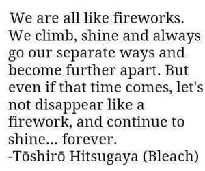 bleach, deep, and quote image