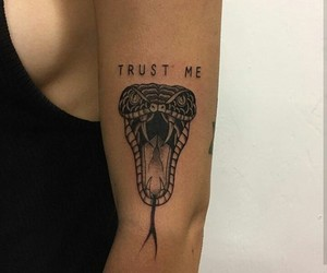 tattoo and snake image