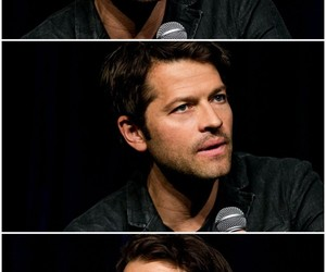 actor, misha collins, and handsome image
