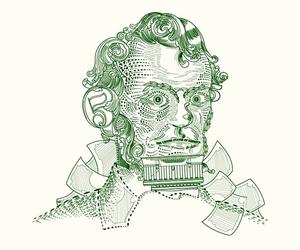 abraham lincoln, cash, and illustration image