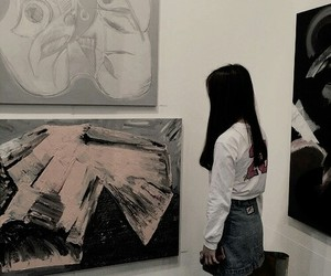 art, aesthetic, and gallery image
