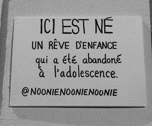 adolescence, Dream, and french image