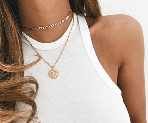 jewelry, necklace, and outfit image