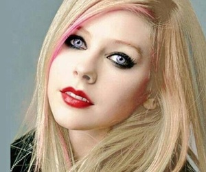 Avril Lavigne, beauty, and make up image