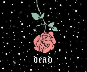 art, dead, and death image