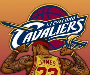 Basketball, game, and LeBron James image