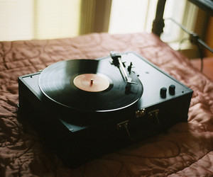 music, vintage, and vinyl image