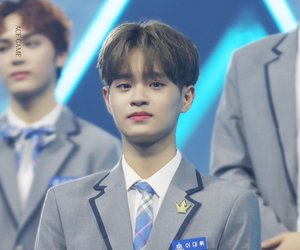 wanna one, produce 101, and lee dehwi image