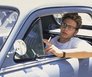 james franco, boy, and car image