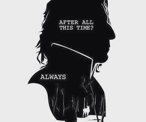 harry potter, always, and snape image